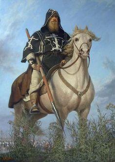 Воин-схимонах Александр Пересвет. . Перед битвой. . XIVвек. …