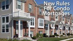 Warrantable & non-warrantable condo mortgage rules updated