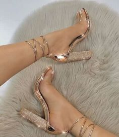 Women's Shoes - big size Women Heeled Sandals Bandage Rhinestone Ankle Strap Pumps Super High Heels 11 CM Square Heels Lady Shoes - Popular Web Sites Super High Heels, High Shoes, Women's Shoes, Platform Shoes, Club Shoes, Shoes Sneakers, Kickers Shoes, High Heels For Kids, Sneaker Heels