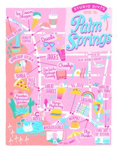 Our Guide to Palm Springs | studiodiy.com