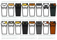 ImRandomMax — DIY NEKO ATSUME CAT BOOKMARKS TEMPLATES!