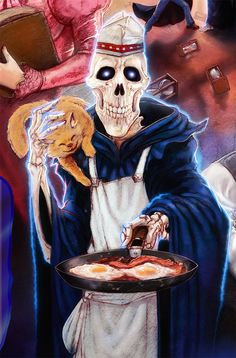 DEATH is a mean cook by thedarkcloak.deviantart.com on @deviantART