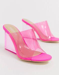 d83c0957707f Public Desire Maliboo pink mule Pink Mules