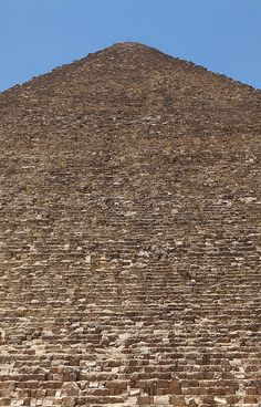 Stairs to Paradise, Pyramid of Kheops, Giza - Egypt