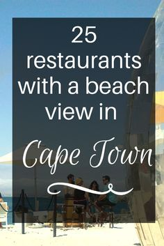 No trip to Cape Town is complete without enjoying sun-downers at some of the best beaches in Cape Town. Cape Town South Africa, Africa Travel, Holiday Destinations, Travel Destinations, Travel Tips, Budget Travel, Vacation, How To Plan, Beaches