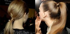 Haartrend: de lage v.s. hoge paardenstaart   Fashionlab