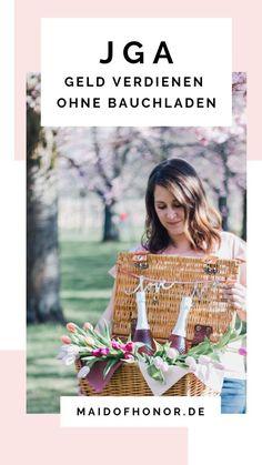 JGA ohne Bauchladen - so verdient ihr trotzdem Geld Names, Livestock, Origins, Southern, Germany, Middle, Diy Projects, Wedding Ideas, France