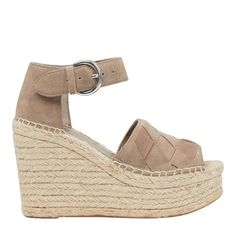 08558bb65821 A cool woven upper adds an artisanal touch to the Adalla sandal with an  adjustable ankle