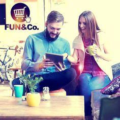 Hoy tu decides como vivir tu mundo FUN&Co. /// Visita tu tienda o ingresa para comprar online a través de fabricasunidas.com