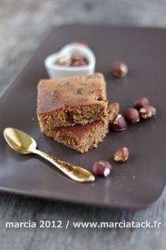Brownies chocolat praliné aux noisettes