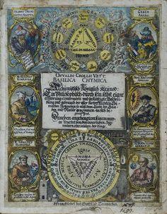 Oswald_Croll (c. 1563 - dezembro 1609) foi alquimista e professor de medicina na Universidade de Marburg , emHesse , Alemanha. Forte defensor da alquimia e usando química na medicina, foi envolvido na escrita de livros e influenciando pensadores de sua época para visualizar a química e a alquimia como dois campos separados._1629_Basilica_Chymica_Title_Page.tif