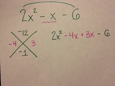 Where was this when I was in school?... Great way to learn/ teach factoring.