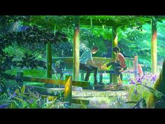 √Bestamvsofalltime ▪ Young and Beautiful - Lana Del Rey / Kotonoha No Niwa (one of the most graphically beautiful animation movies I have EVER seen)
