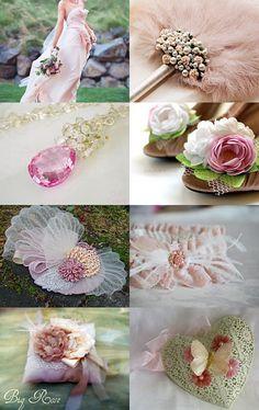 Valentine Wedding Dreams, made by Lynn from SouthernBelleOOAK, Etsy