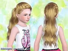 Sims 3 Hair For Child (Girl)