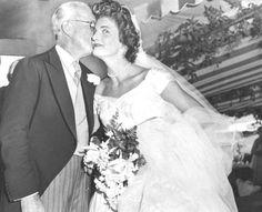Jackie Kennedy with Joseph Patrick Kennedy, Sr.