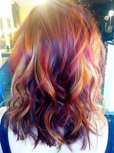 Multi-dimensional Red hair color