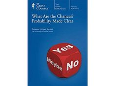 NEW Great Courses WHAT ARE THE CHANCES: PROBABILITY MADE CLEAR DVD Set