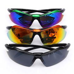 Polarizadas gafas de sol UV400 gafas de conducción gafas de deporte al aire libre en bicicleta a prueba de viento