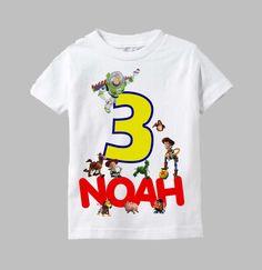 Toy Story Birthday Shirt Toy Story Shirt by funfashionsetc