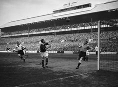 England vs Germany, White Hart Lane, 1935. The first of only two games between England and Nazi Germany.