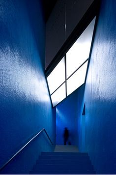 Ombú: The Blue Theatre, Almada, Portugal. By architects...