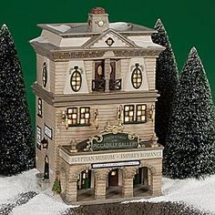"""Department 56: Products - """"Piccadilly Gallery"""" - View Lighted Buildings"""