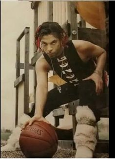 Prince - Playing basketball! He is gorgeous! ;)
