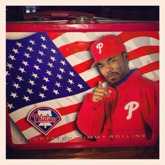 Jimmy Rollins Lunchbox SGA