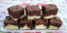 cheesecake and cocoa Different Cakes, Brownie Bar, Coffee Cake, Cocoa, Brownies, Cake Recipes, Cheesecake, Cookies, Baking