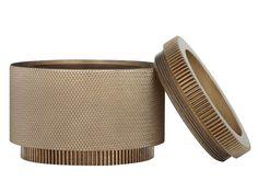 Boîte à bijoux en métal CANDLE HOLDER MEDIUM Collection Cog by Tom Dixon | design Tom Dixon