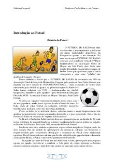 Apostila educação física escolar Historia Do Futsal, Pet 5, Comics, Poetry Activities, Importance Of Physical Education, Physical Education Games, Gymnastics For Kids, Volleyball, Art