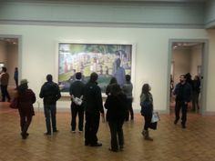 Seurat's La Grande Jatte at the Art Institute of Chicago