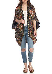 Free People Jaipur Kimono