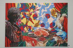 Ciro Quintana. Naturaleza muerta de una isla tropical . Oil on canvas 56 x 40 in  2017 Acrylics, Tropical, Gallery, Painting, Art, Still Life, Islands, Art Background, Painting Art