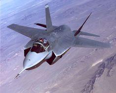 X-35, 1st Flt 24 Oct 2000, No. Built 2, Developed F-35 Lightning II