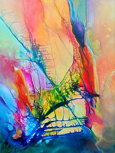 """""""Light Inside"""" x Acrylic on Canvas by Monika Wright. Available at Crescent Hill Gallery in Mississauga, ON Taste The Rainbow, Wabi Sabi, All The Colors, Abstract Art, Canvas, Gallery, Nature, Inspiration, Art Ideas"""