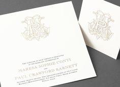 vera wang fluorescent white wedding invitation suite on cotton stockavailable at honey papercom vera wang pinterest invitation suite - Vera Wang Wedding Invitations