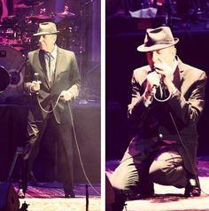 Old Ideas Tour 2012 ~ Leonard Cohen ~ Los Angeles, California 11.5.2102 (Review via Fishbowl LA)