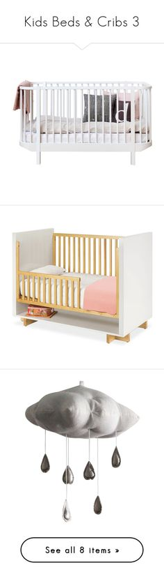 """""""Kids Beds & Cribs 3"""" by libbylu116-1 ❤ liked on Polyvore featuring baby, baby stuff, kids, home, children's room, children's furniture, nursery furniture, kids clothes, beds and home decor"""
