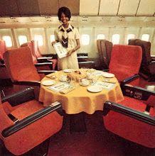 1970s first class food on TWA  First class on Lockheed 1011  Fun service!!