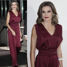 "Queen Letizia attended a dinner in honor of the winners of prizes ""Mariano de Cavia"", Luca de tena"" and ""Mingote"""