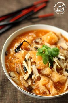 Nasi Lemak Lover: Spicy and Sour Fish Maw Soup (Foochow style) 酸辣鱼鳔~~欢喜过马年