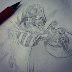 Darth Vader by Sajad Shah #darthvader #starwars