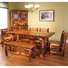 log furniture | ... log furniture manufacturers here: http://www.logcabinrustics.com/aspen