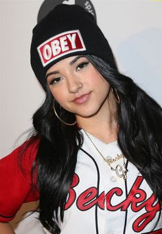 Becky G! LOVE THE WAY THIS GIRL DRESSES Learn How To Grow Luscious Long Sexy Hair @ longhairtips.org/ #longhair #longhairstyles #longhairtips