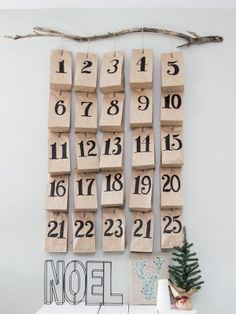 Our favourite DIY Advent calendars