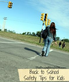Back to School Safety Tips for Kids Safe Kids, School Safety, National School, Kids Health, Safety Tips, Child Safety, Health And Safety, Back To School, Environment