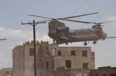 US. Army MH-47G Chinook of the 160th SOAR during exercise.