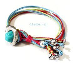 #Pulsera #Bracelet www.facebook.com/atelier51.Plasencia http://www.atelier51handmade.com